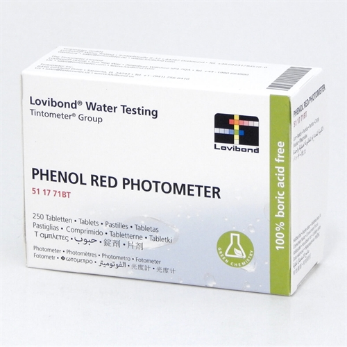 pHenolred 50stk. test piller til photometer